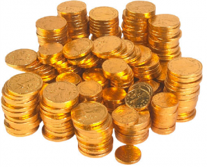 Stack-of-Gold-Investment-Coins-300x241